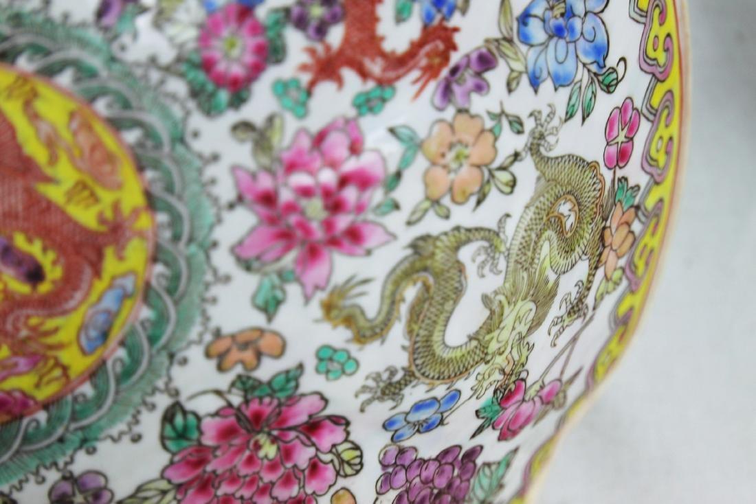Antique Chinese Wucai Porcelain Bowl 19th Century - 6