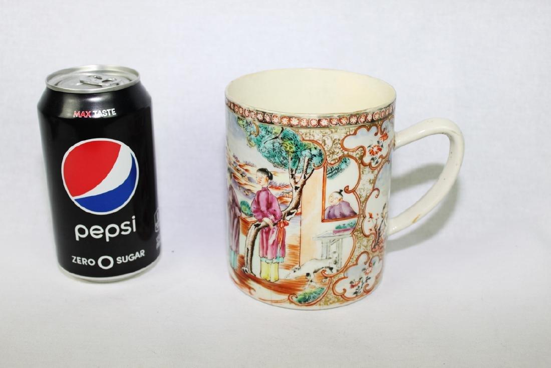 Antique Chinese WuCai Mug