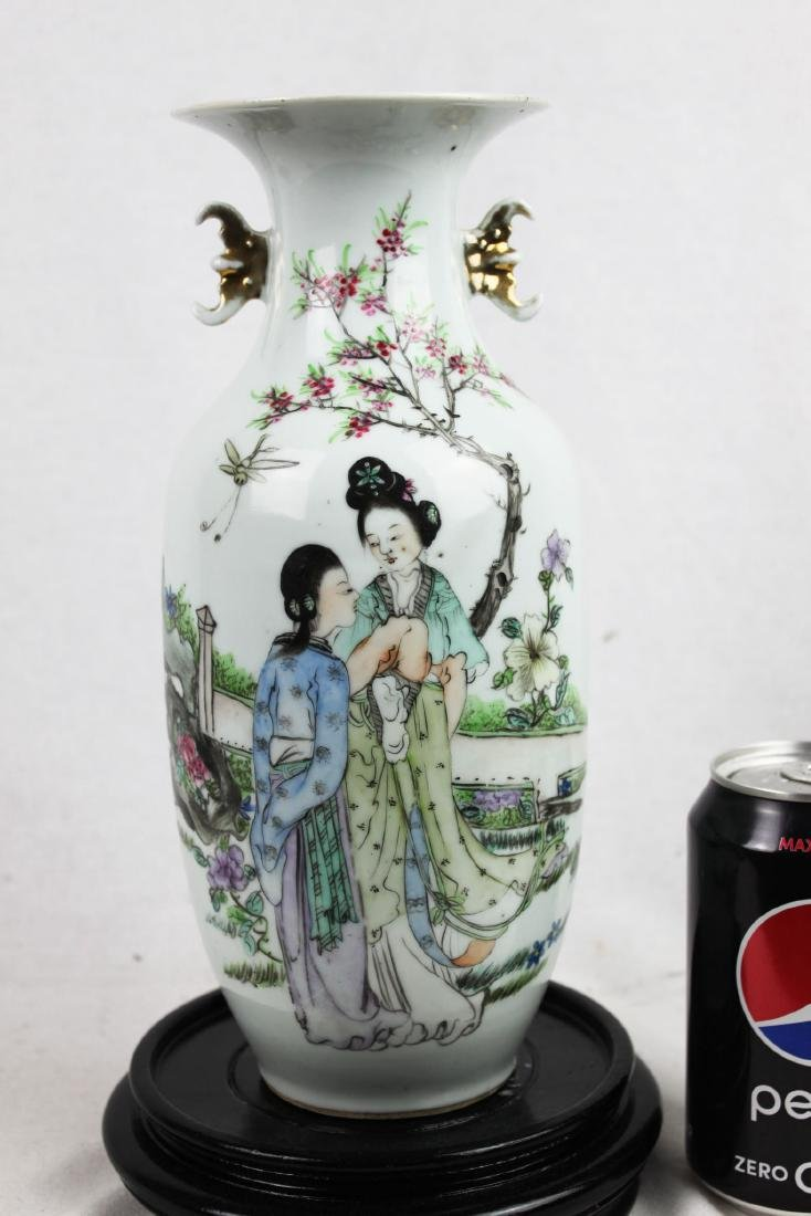 Antique Chinese Porcelain Vase from 1900s'