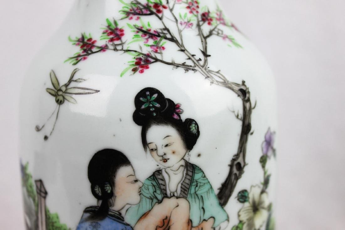 Antique Chinese Porcelain Vase from 1900s' - 3