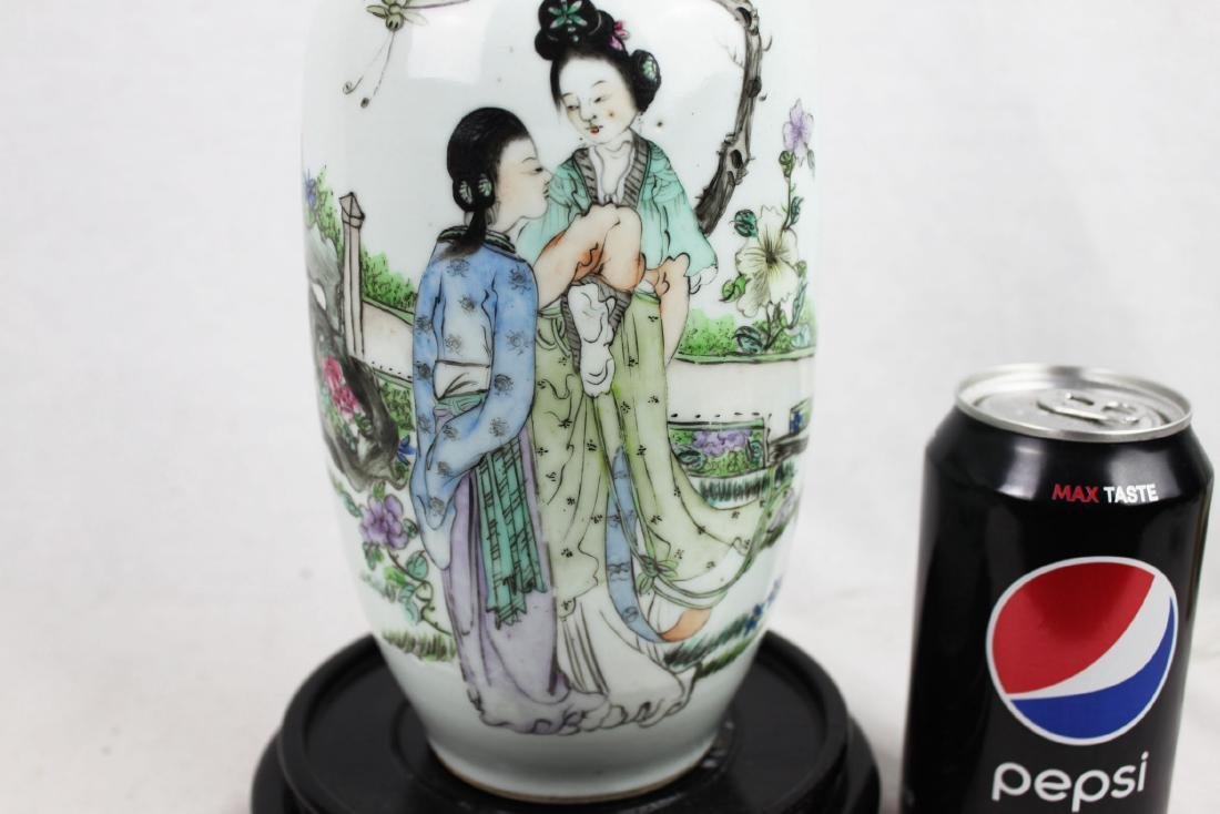 Antique Chinese Porcelain Vase from 1900s' - 4