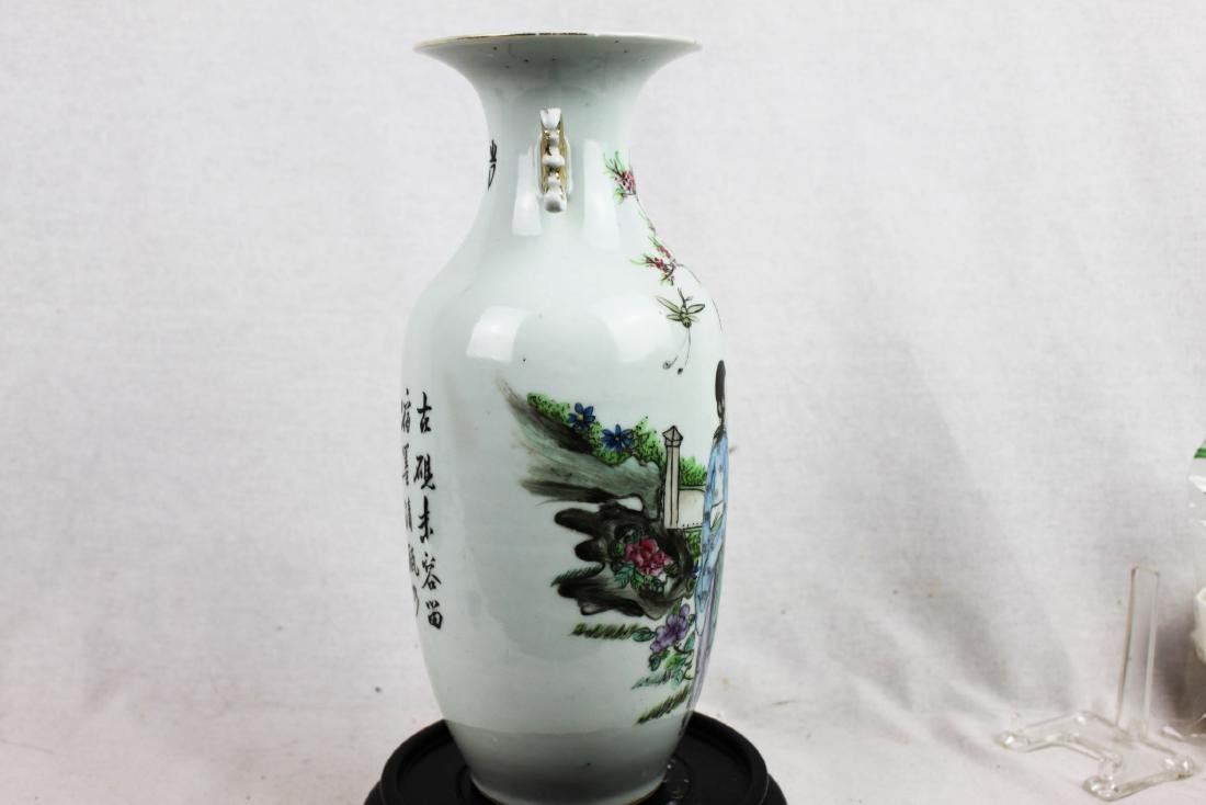 Antique Chinese Porcelain Vase from 1900s' - 5