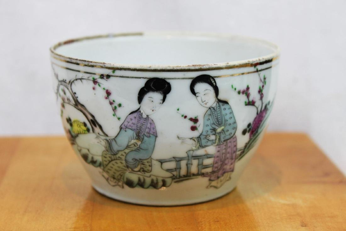 Antique Chinese Porcelain Cup 1800s' by Yongfa Luo