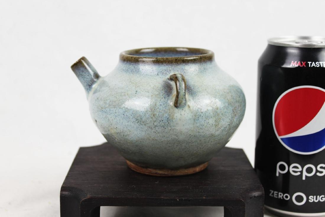 Antique Chinese Jun-yao Tea Pot