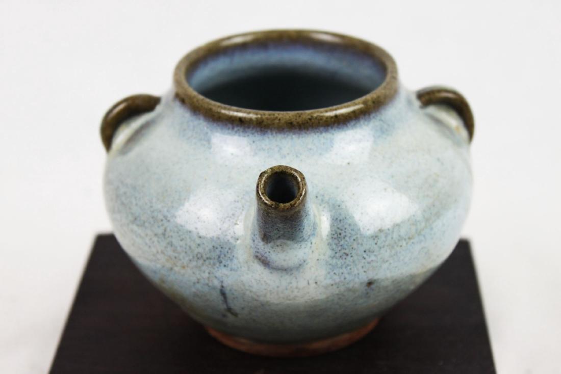 Antique Chinese Jun-yao Tea Pot - 7