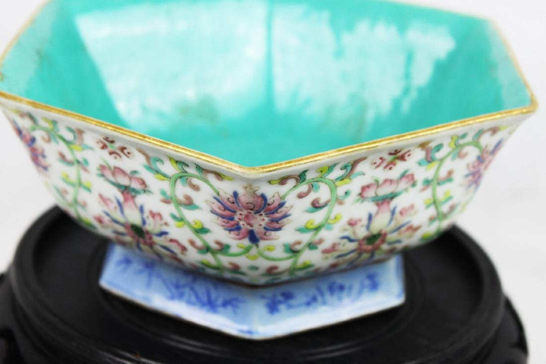 Antique Chinese Porcelain Bowl. - 5