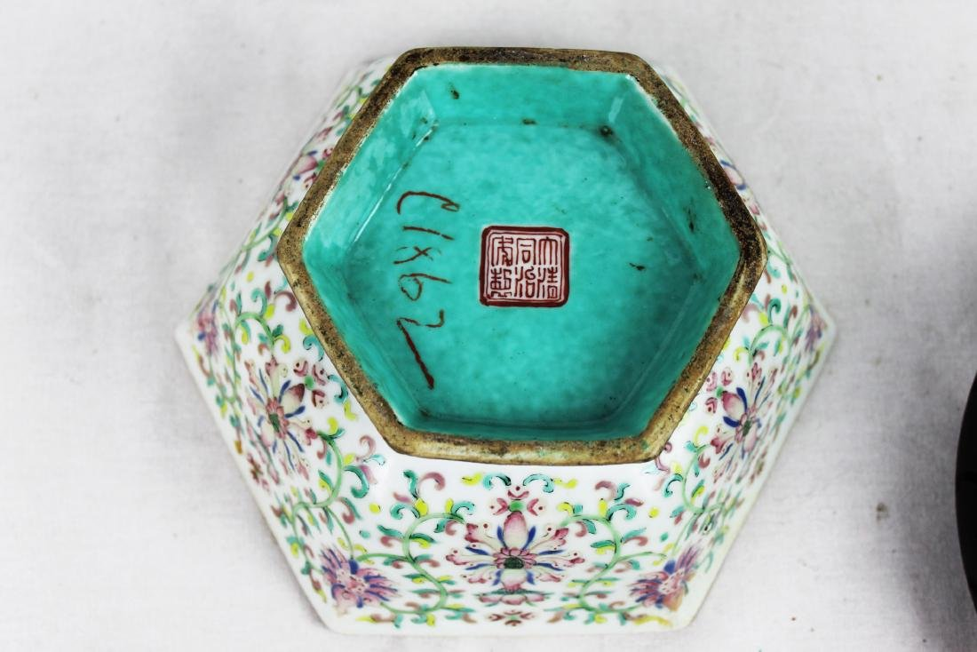 Antique Chinese Porcelain Bowl. - 6