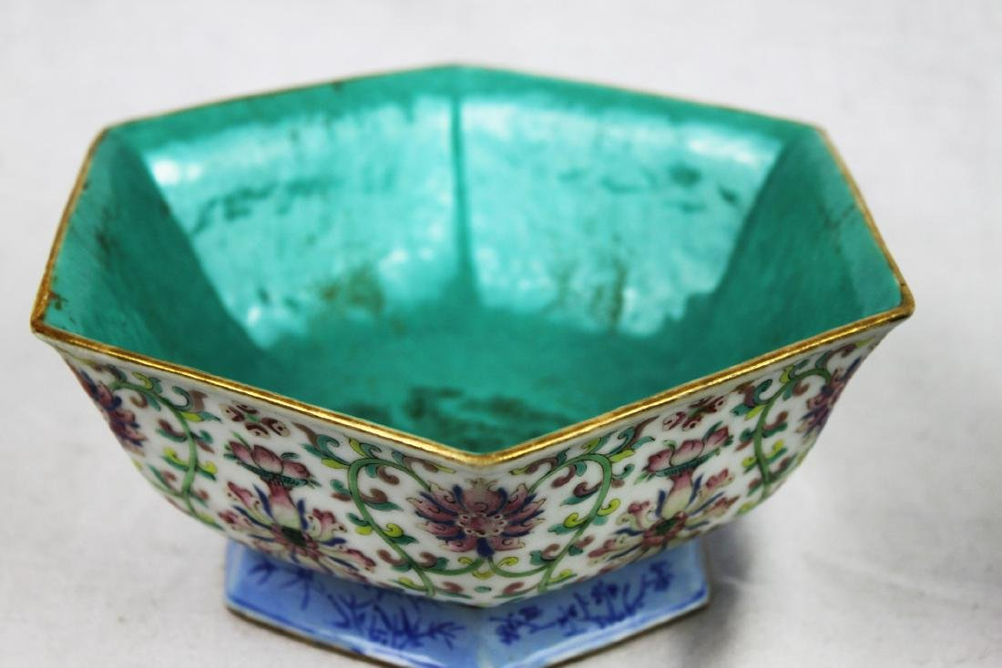 Antique Chinese Porcelain Bowl. - 8