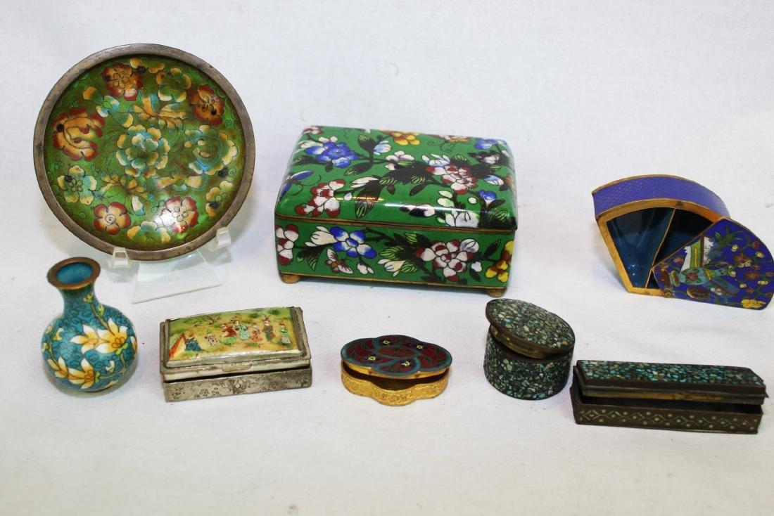Antique Cloisonne Items