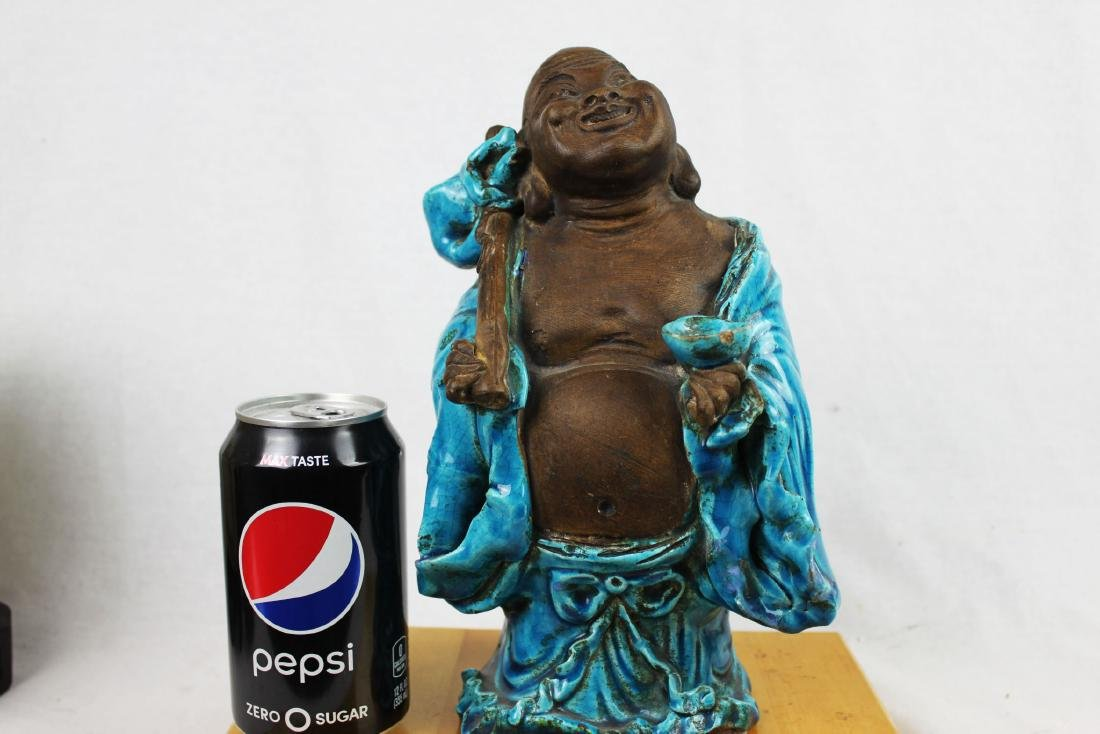 Antique Hand Carved Chinese Buddha Statue