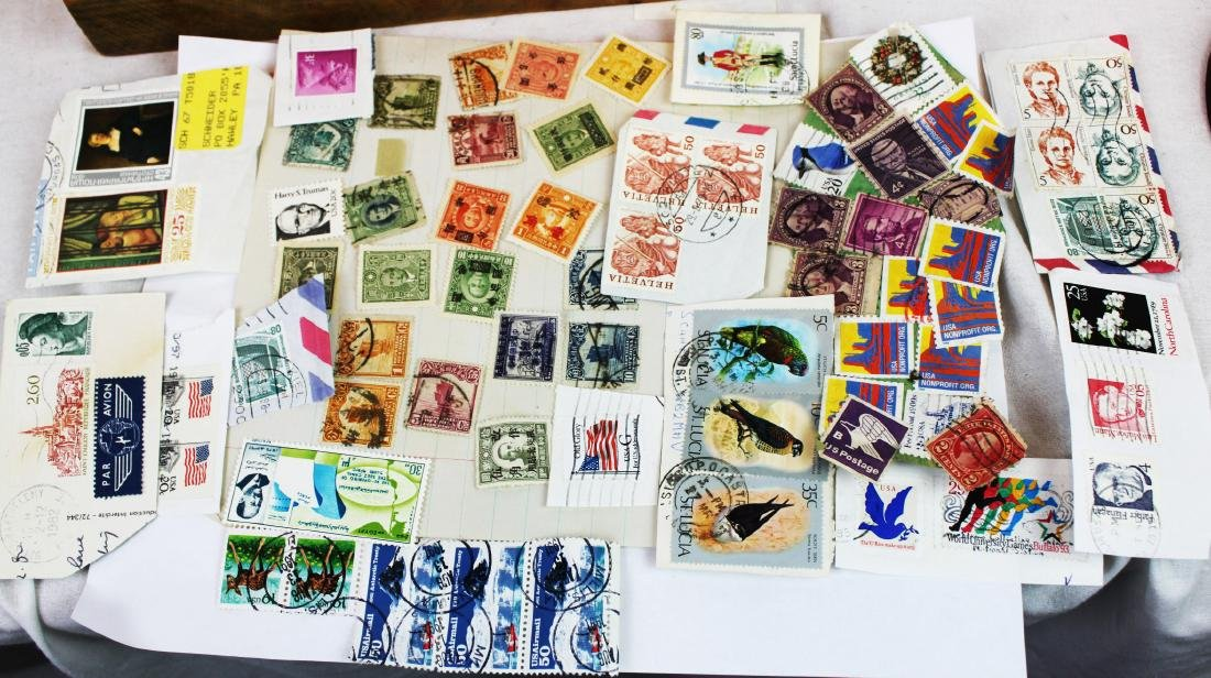 Antique Chinese Stamps and Other stamps
