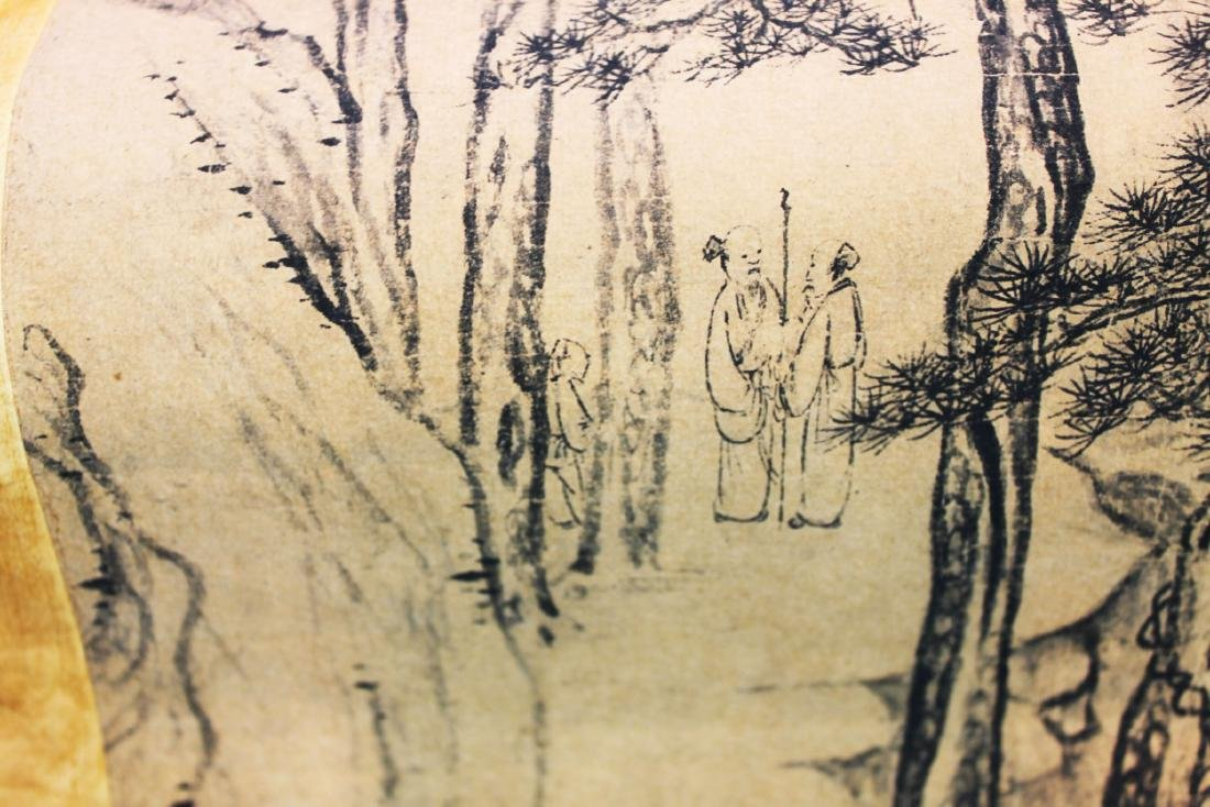 Antique Chinese Rice Paper Painting - 7