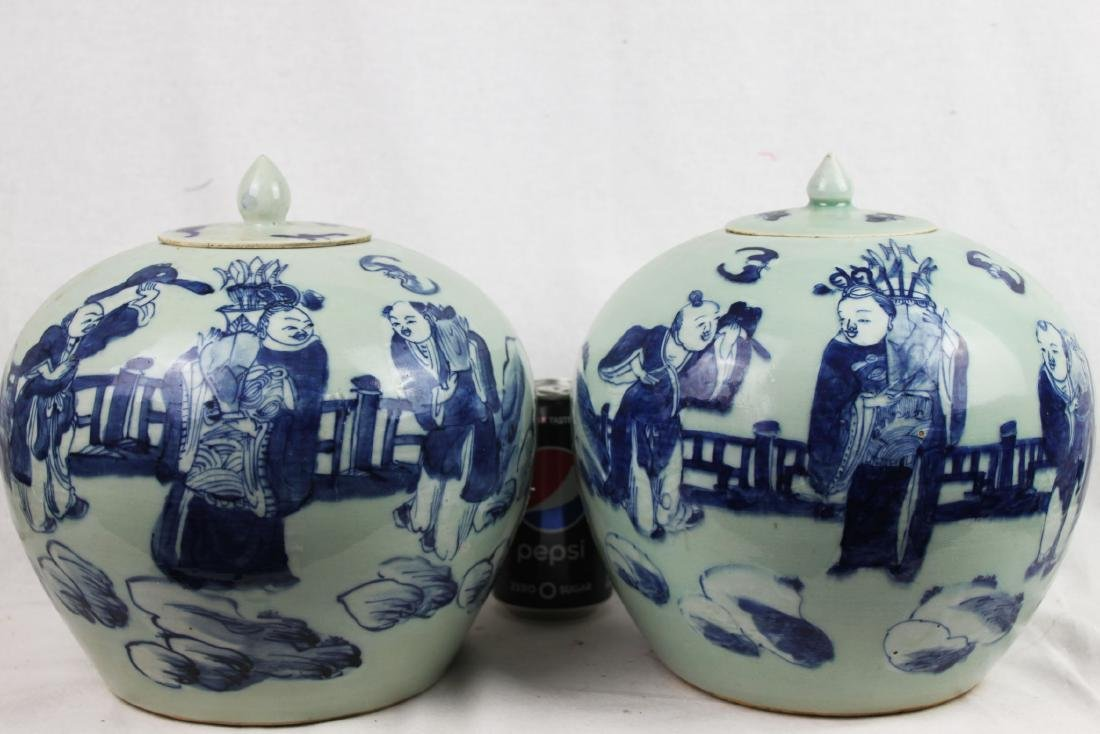 A pair Chinese Porcelain Jars