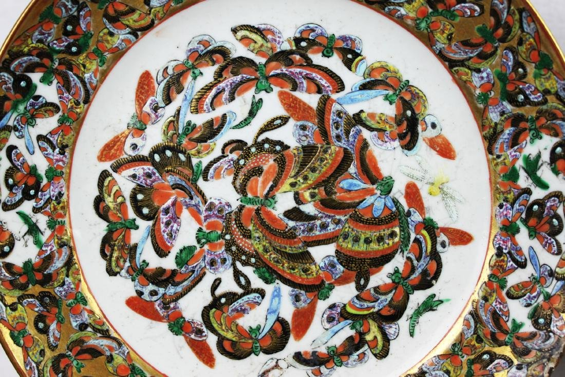 Four Antique Chinese Porcelain Plates - 3