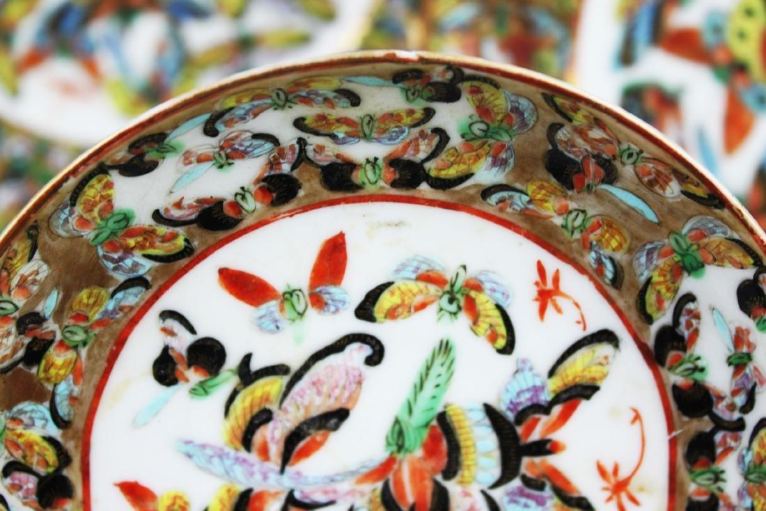 Four Antique Chinese Porcelain Plates - 5