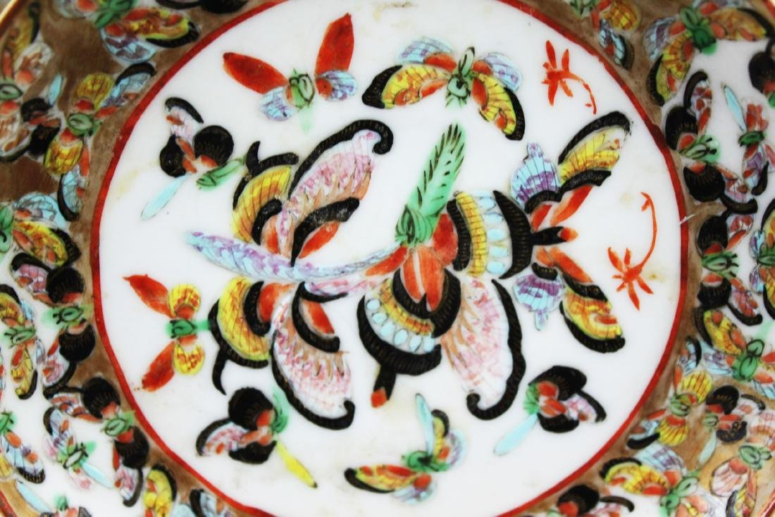 Four Antique Chinese Porcelain Plates - 6
