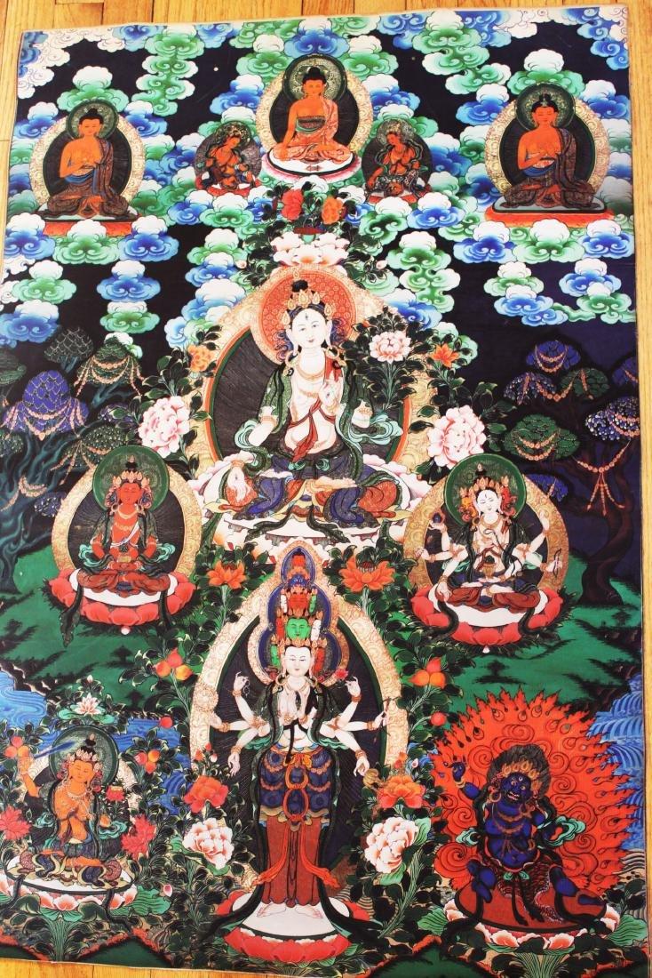 Antique Tibetan Tangka (Thangka, Thanka, Tanka)