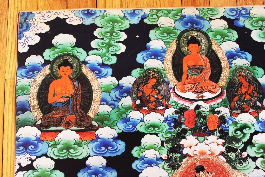 Antique Tibetan Tangka (Thangka, Thanka, Tanka) - 2