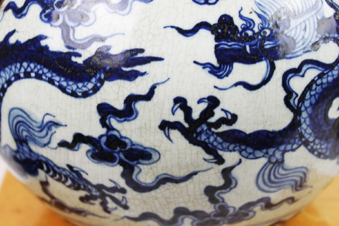 Antique Chinesxe Porcelain Pot from 1800s - 5