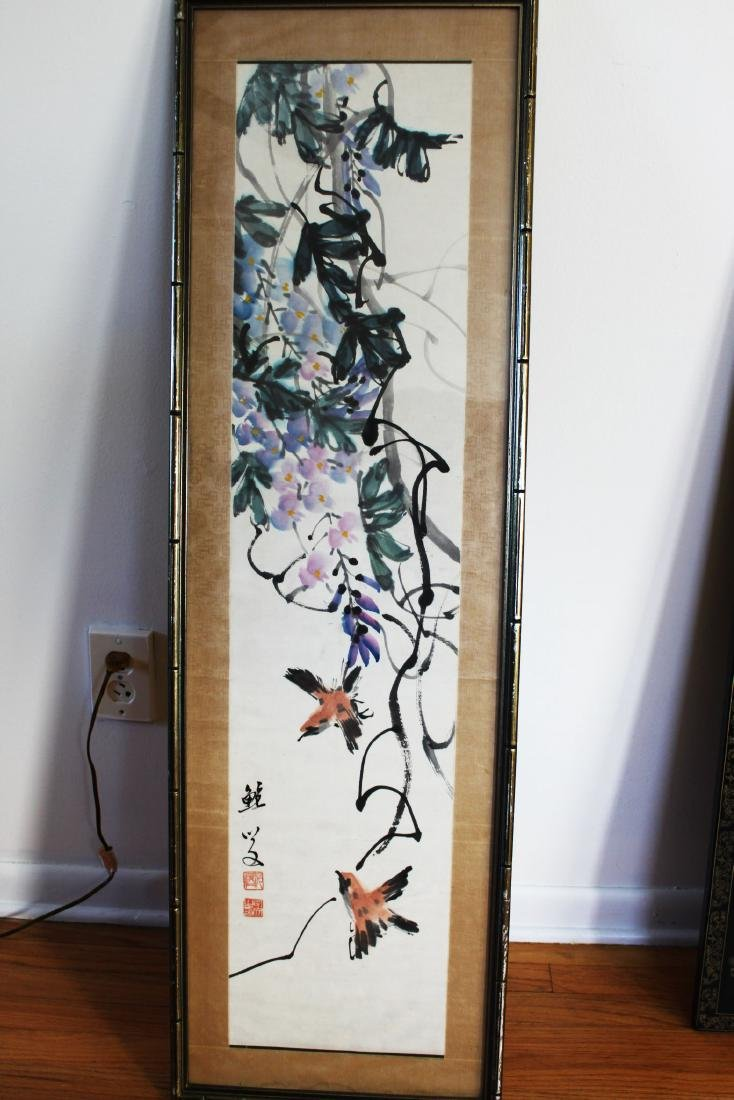 Antique Chinese Painting Frame