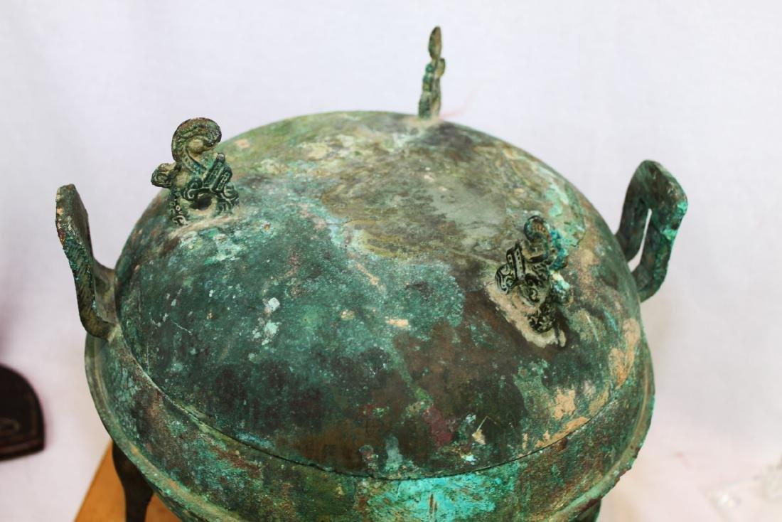 Antique Bronze Censor Burner - 2