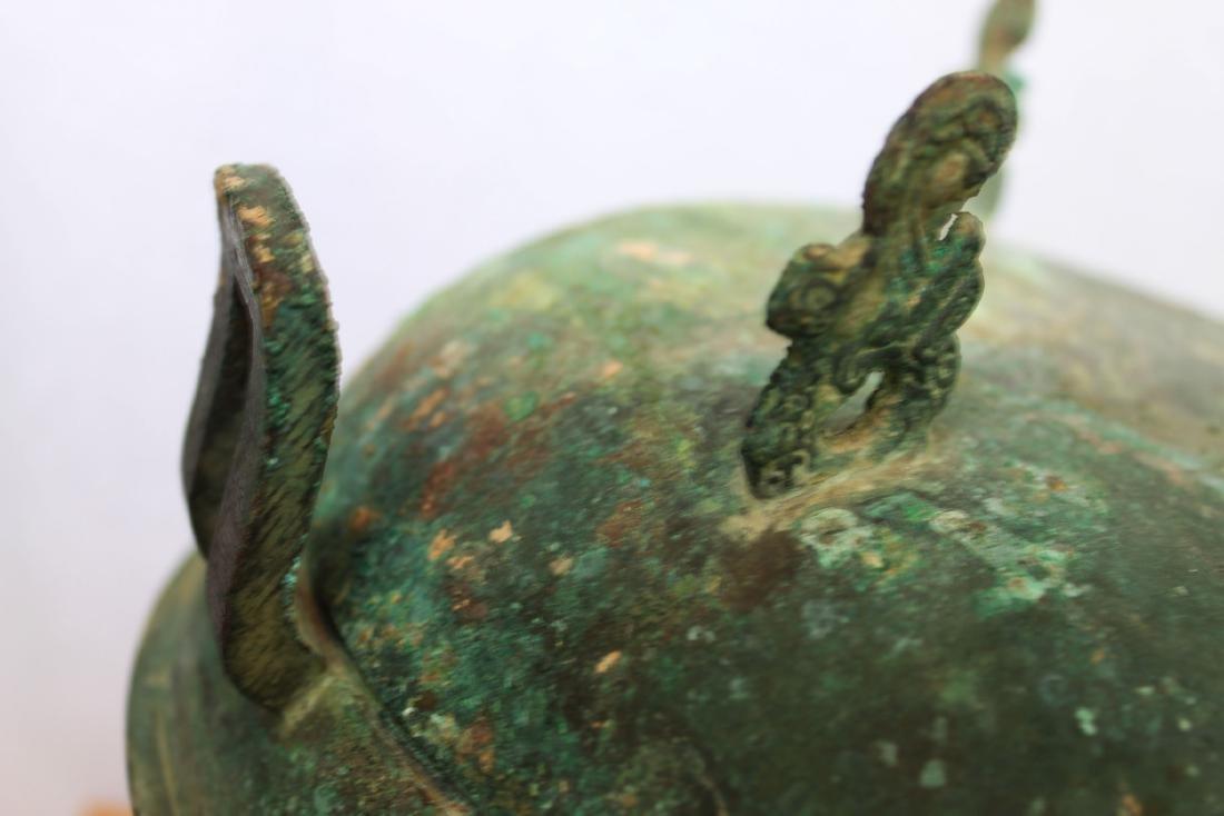 Antique Bronze Censor Burner - 3