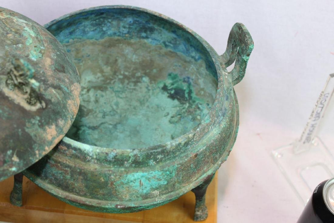 Antique Bronze Censor Burner - 4