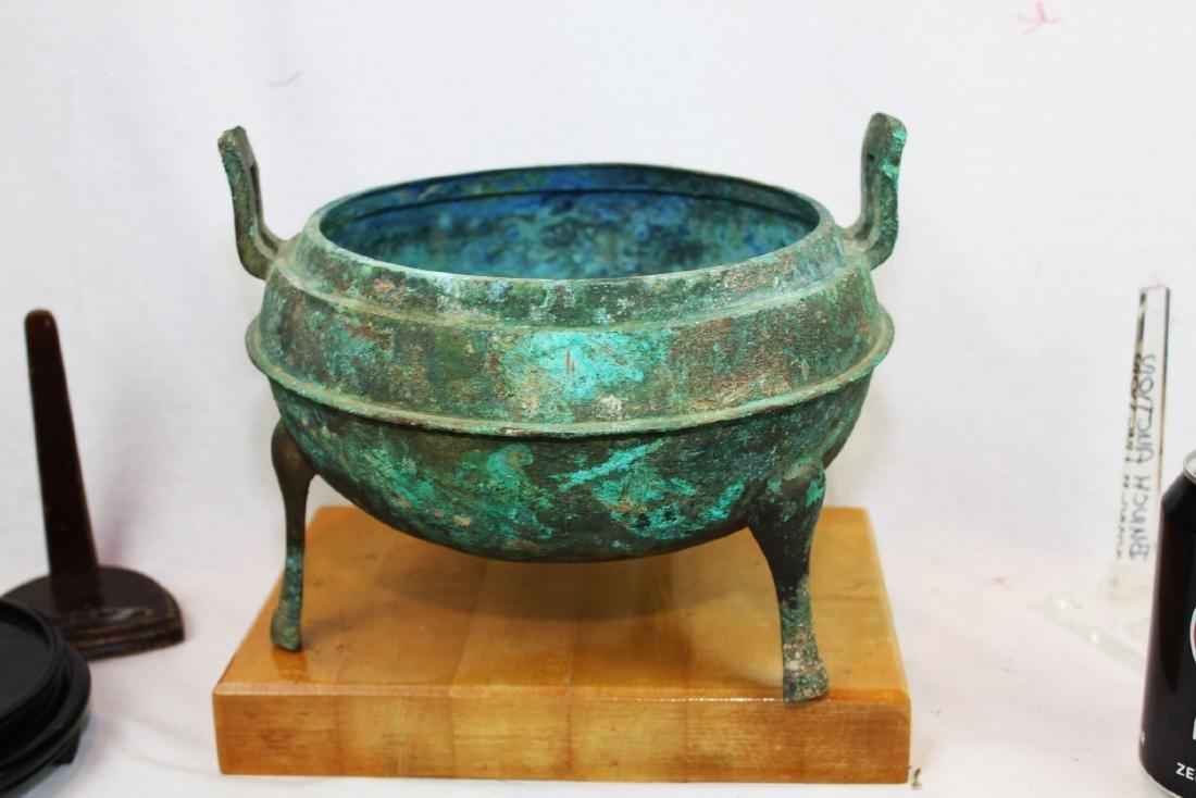 Antique Bronze Censor Burner - 7