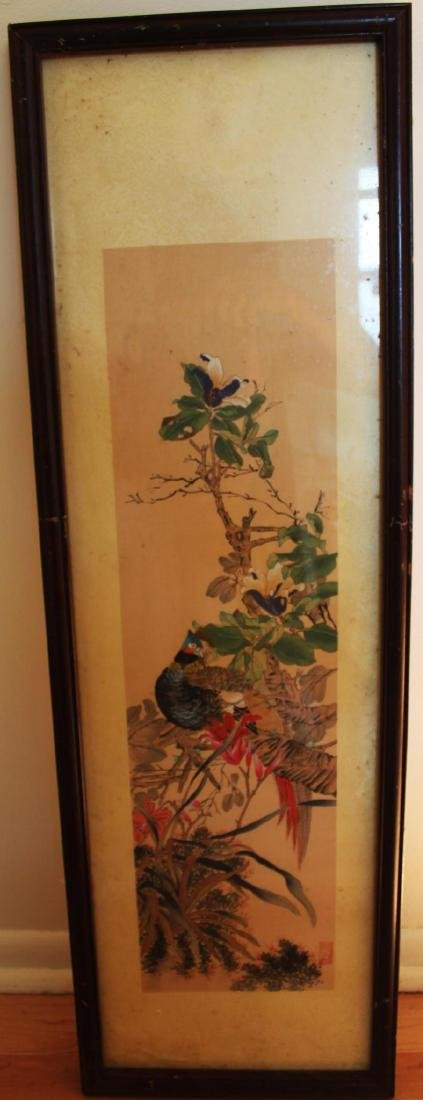 Antique Chinese Hand Color Painting