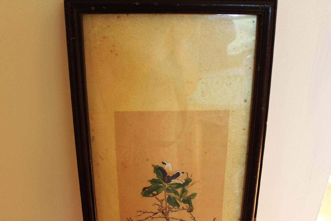 Antique Chinese Hand Color Painting - 2