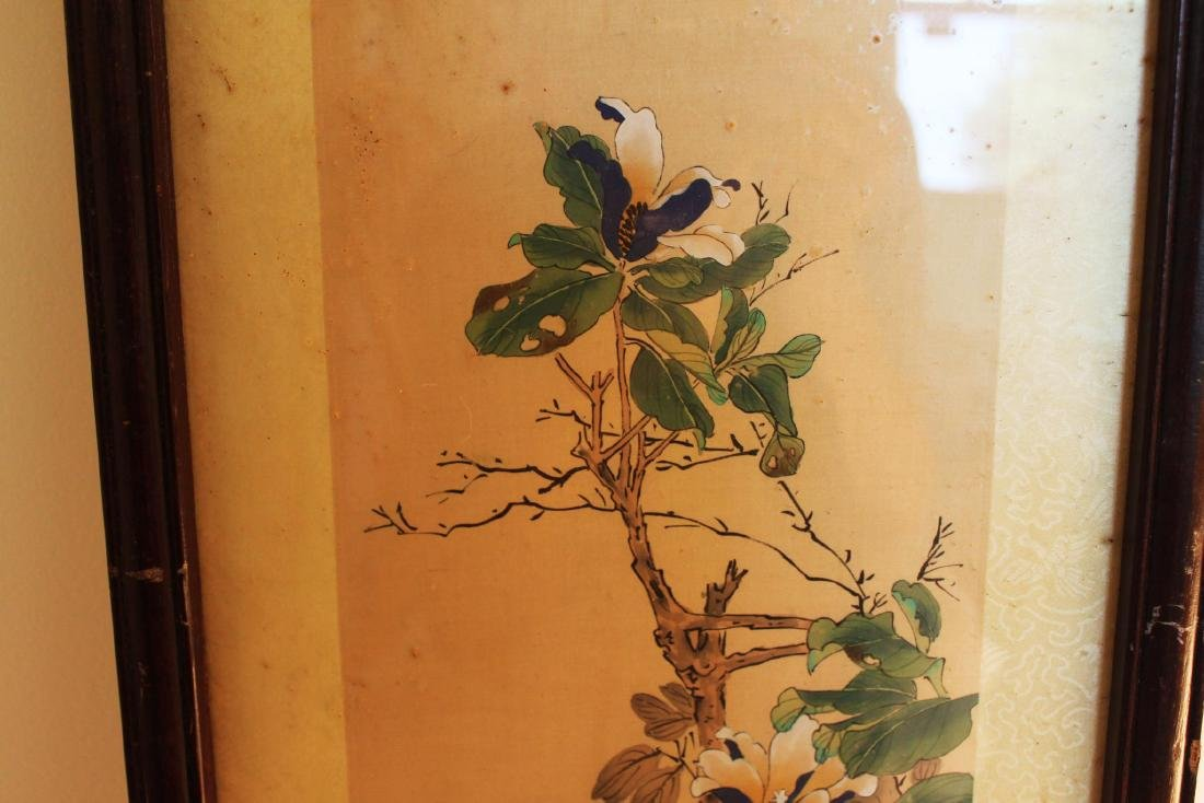 Antique Chinese Hand Color Painting - 3