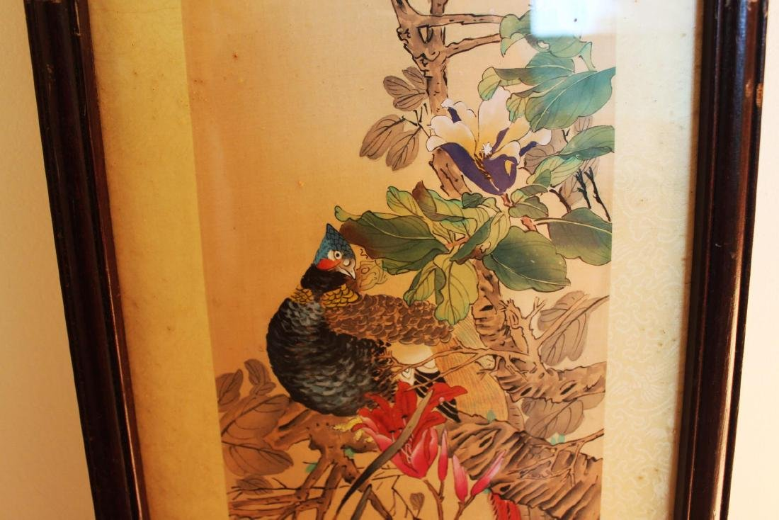 Antique Chinese Hand Color Painting - 4