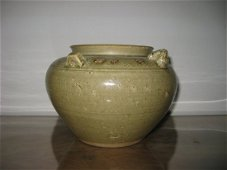 Antique Chinese Yue Period Celadon First Beast Tank