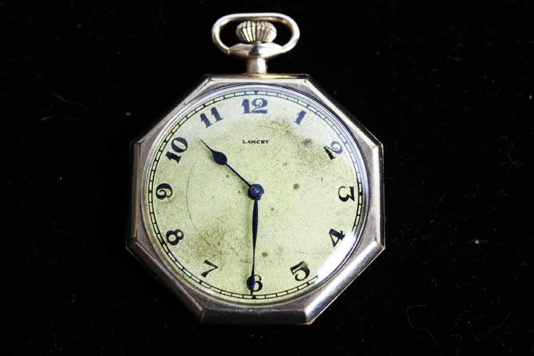Vintage Early 1900s Lancet Pocket Watch