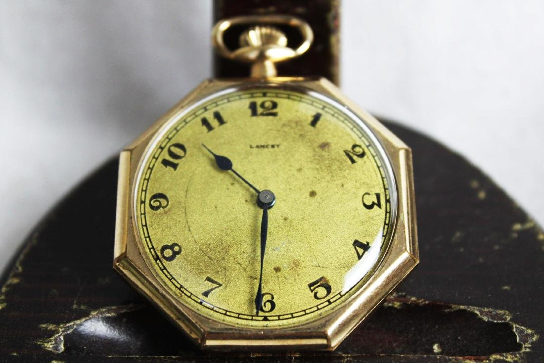 Vintage Early 1900s Lancet Pocket Watch - 5