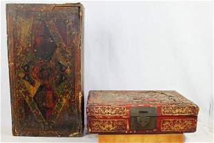 Antique Chinese Jewlery Tray Boxes 1900s'