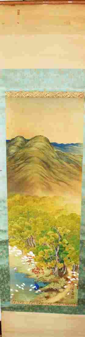 Chinese Scroll Water Ink Painting