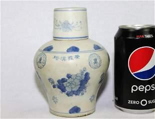 Antique Chinese Porcelain Liquior Bottle