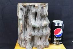 Antique Hand Carved Wood Sculpture