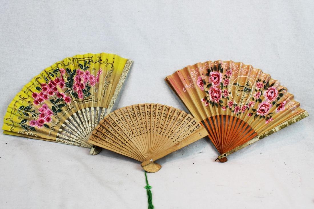 6 Folding Fans - 3