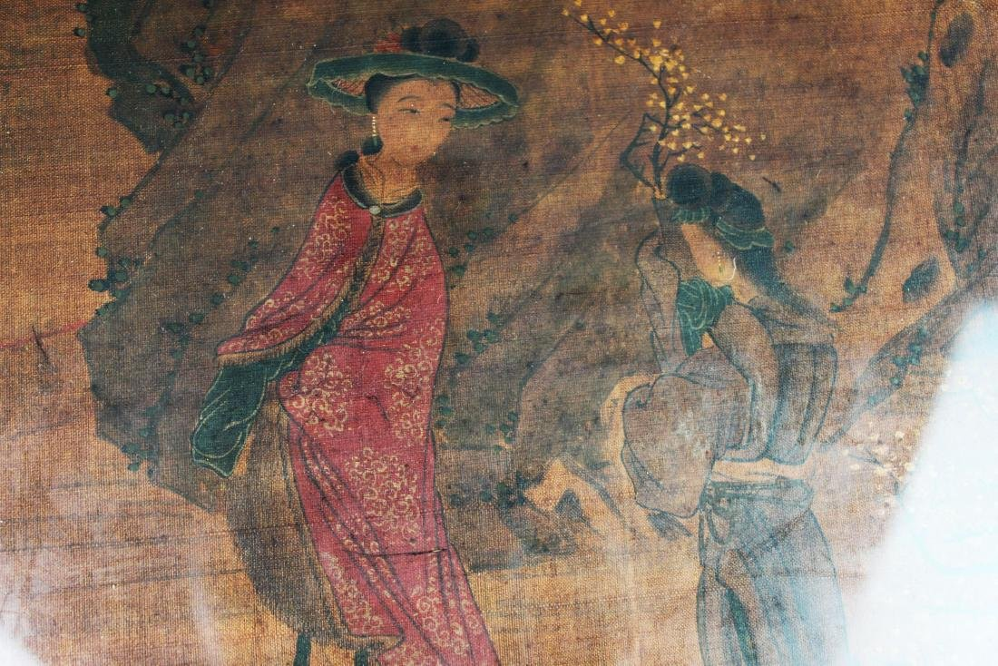 Antique Chinese Painting on Silk - 3