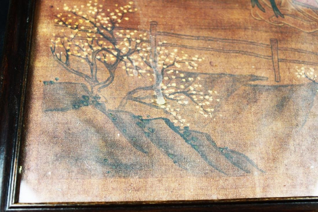 Antique Chinese Painting on Silk - 4