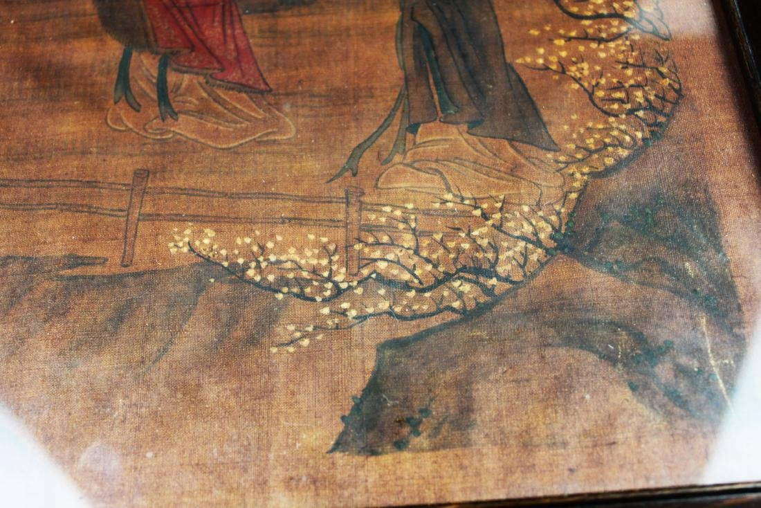 Antique Chinese Painting on Silk - 5