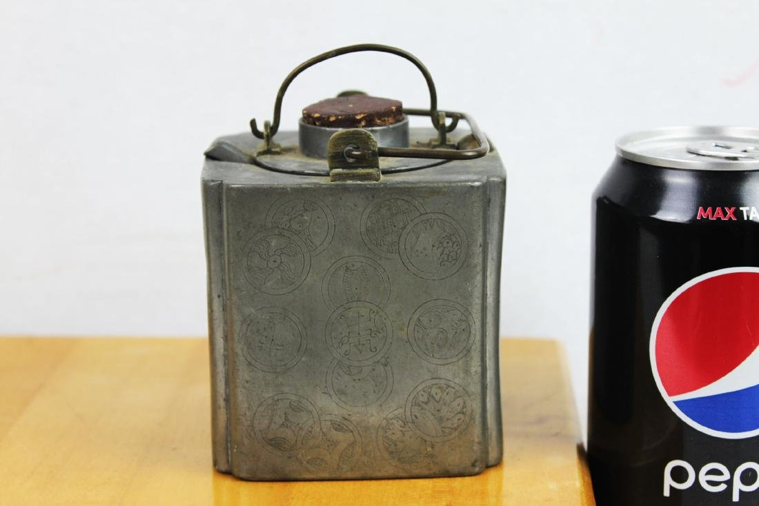 Antique Chinese Bronze Liquor Warmer