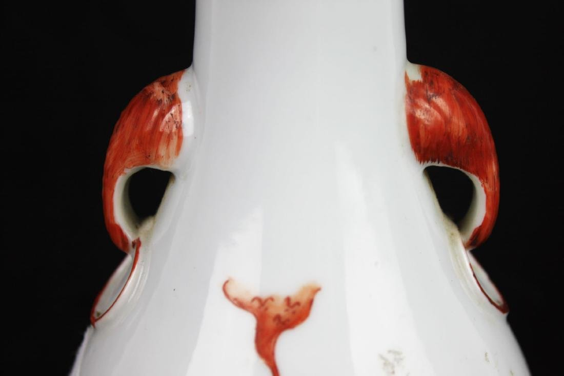 Antique Chinese Porcelain Lamp - 10
