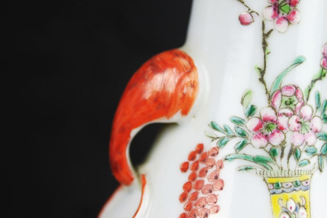 Antique Chinese Porcelain Lamp - 3