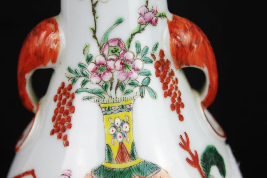 Antique Chinese Porcelain Lamp - 4