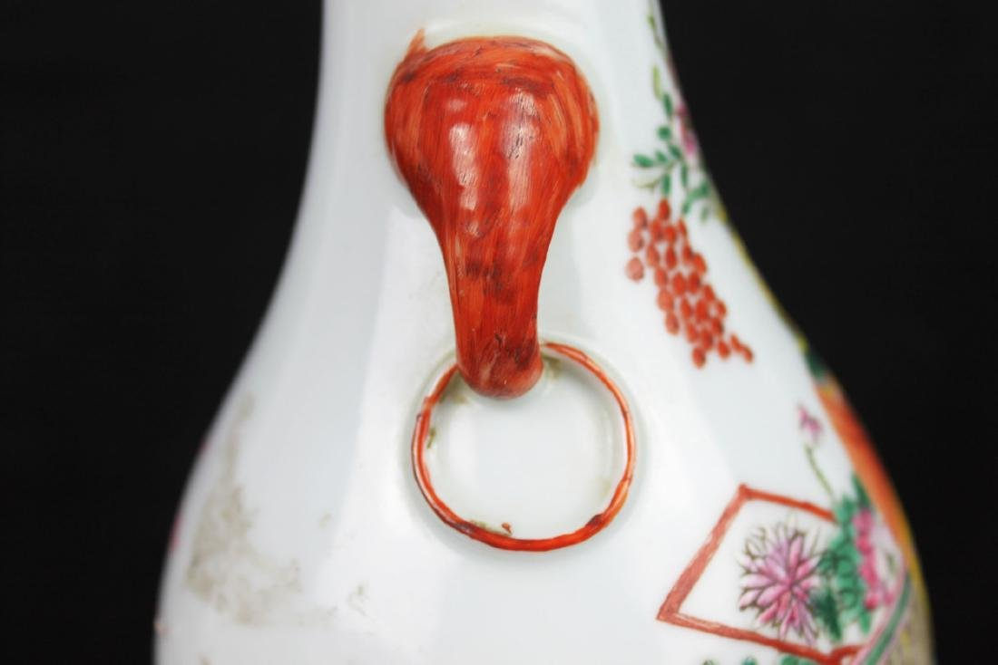 Antique Chinese Porcelain Lamp - 8