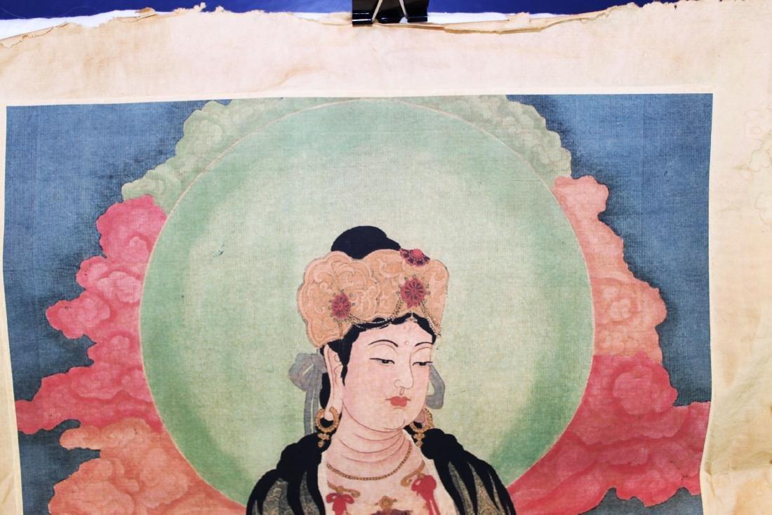 Antique Chinese Tangka - 2