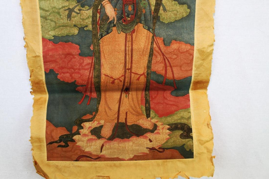 Antique Chinese Tangka - 5